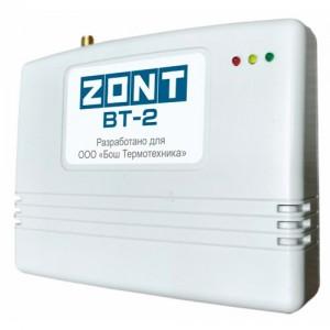 ZONT BT-2 GSM термостат  котлов BOSCH, BUDERUS