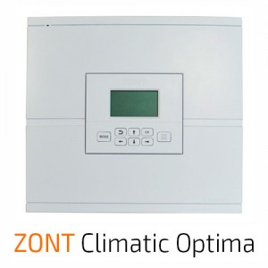 ZONT Climatic Optima автоматический регулятор системы отопления