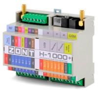 ZONT H-1000+ универсальный контроллер для систем отопления (GSM+WI-FI)