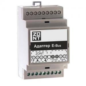 Адаптер E-BUS (725) подключения ZONT к газовым котлам по цифровой шине E-BUS купить, цена, отзывы, характеристики, официальный магазин | Москва, Волоколамское шоссе, 103, тел. +7 (495) 208-00-68