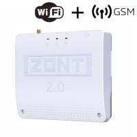 ZONT SMART 2.0 отопительный контроллер для электрических и газовых котлов