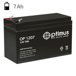 Аккумулятор резервного питания ZONT 12V/7 Ah свинцово-кислотный