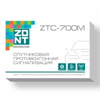 ZTC-700M Спутниковая противоугонная сигнализация ZONT