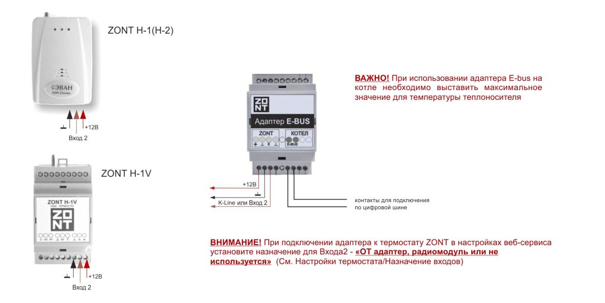 Адаптер E-BUS (725) подключения термостатов ZONT к газовым котлам по цифровой шине E-BUS купить, цена, отзывы, характеристики, официальный магазин | Москва, Волоколамское шоссе, 103, тел. +7 (495) 208-00-68