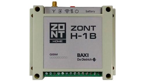 GSM-Climate, термостат, ZONT H-1B, купить, цена, отзывы,  BAXI, De Dietrich