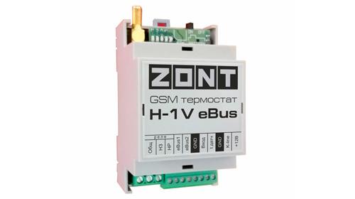 ZONT H-1V eBus GSM термостат для котлов Vaillant и Protherm купить, цена, отзывы, характеристики, официальный магазин | Москва, Волоколамское шоссе, 103, тел. +7 (495) 208-00-68
